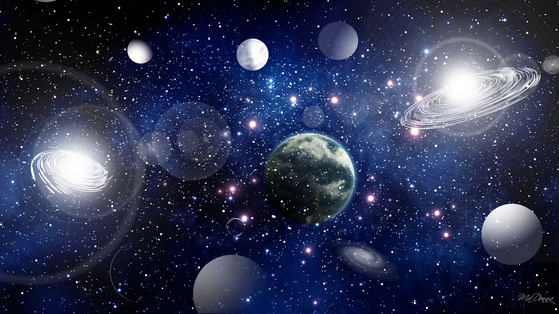 Earth And Moon 3d Wallpaper 30 Space Backgrounds Wallpapers Pictures Images
