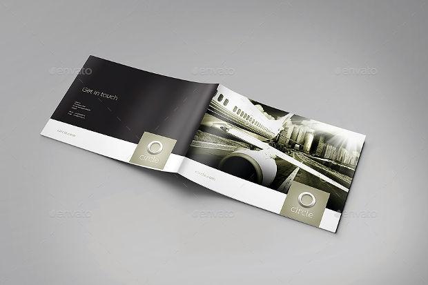 25+ Printable A4 Landscape Brochure Mockups - PSD Download Design