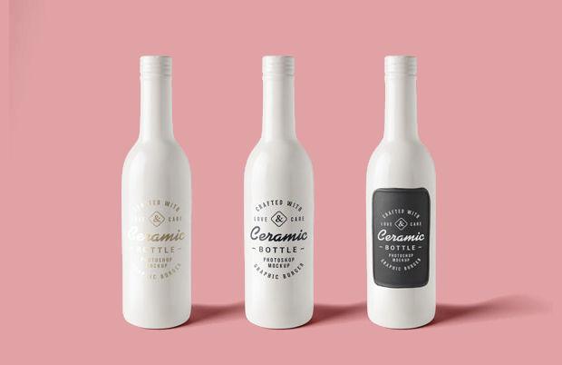 29 Best Bottle Mockups Psd Download Design Trends