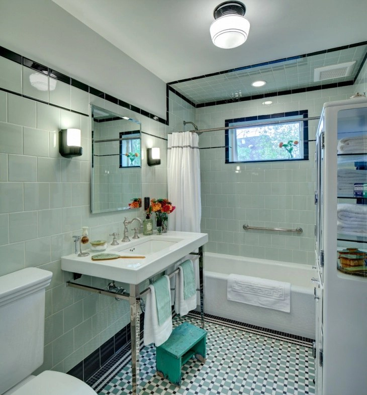 20+ Vintage Bathroom Designs, Decorating Ideas Design Trends - vintage bathroom ideas
