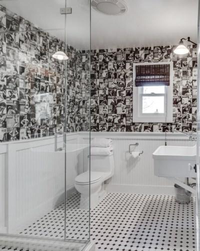 20+ Black And White Bathroom Designs, Decorating Ideas   Design Trends - Premium PSD, Vector ...