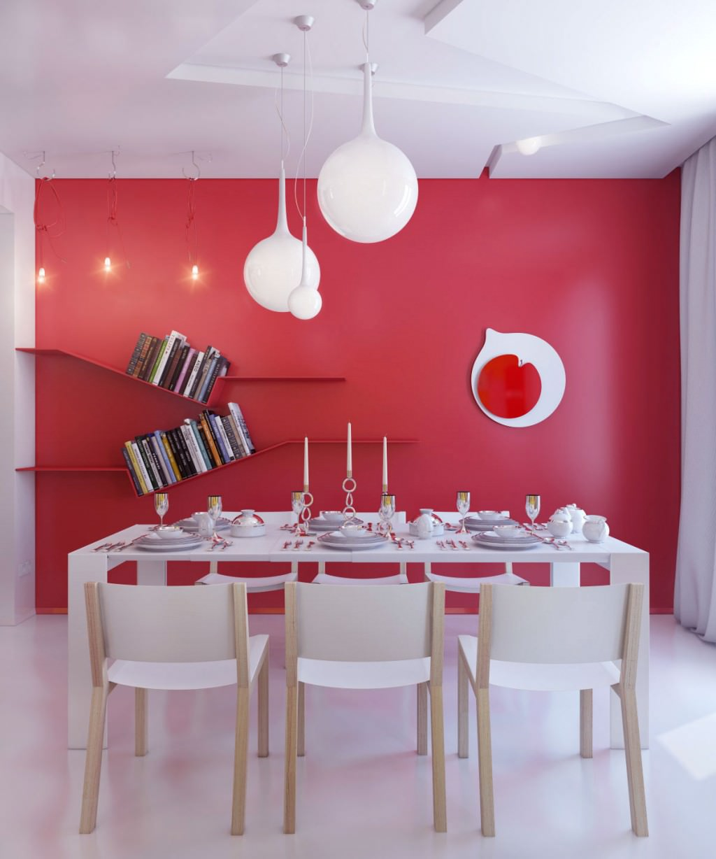 Red And White Dining Room 10 43 Red Dining Room Designs Decorating Ideas Design