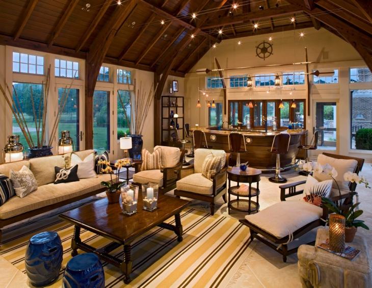 21+ Living Room Bar Designs, Decorating Ideas Design Trends - living room bar furniture