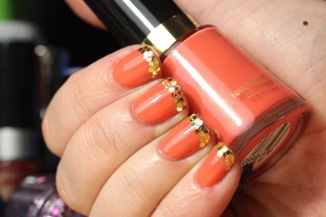 14 Vibrant Orange Nail Art Designs For Summer
