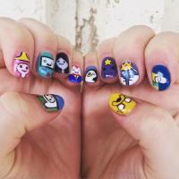 33+ Cartoon Nail Art Designs , Ideas | Design Trends ...