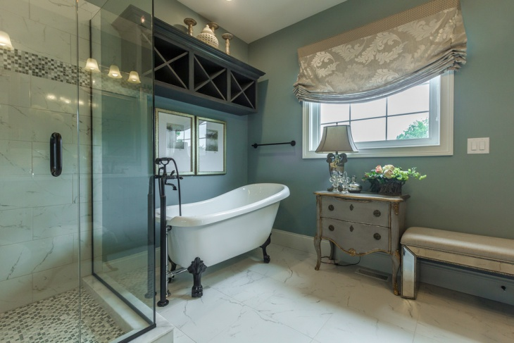 Large Mirrors In Bathroom 20 Shabby Chic Bathroom Designs Decorating Ideas