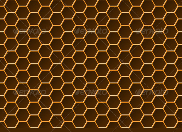 Elite Decor 25+ Honeycomb Patterns, Textures, Backgrounds, Images