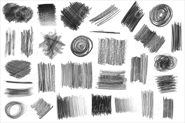23+ Pencil brushes, Download for Photoshop, Gimp Design Trends