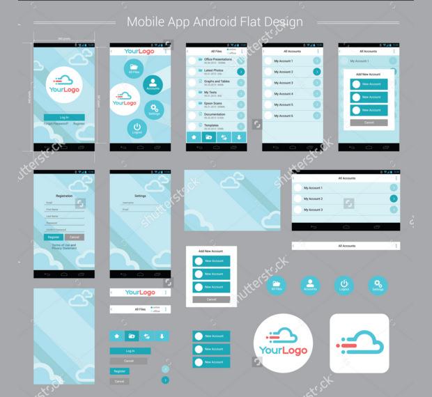 22+ Mobile App Mockups - PSD Download Design Trends - Premium PSD