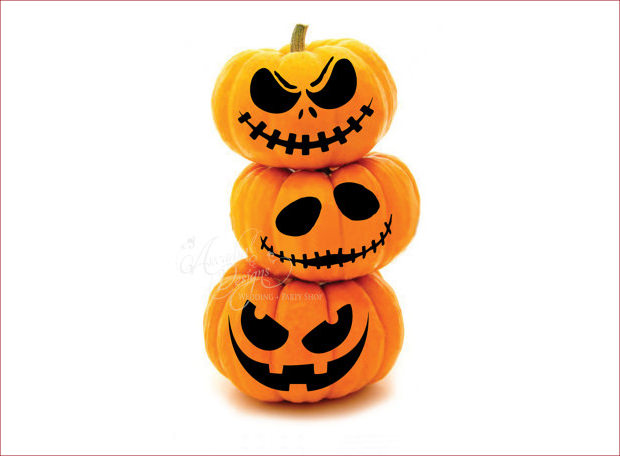 23+ Scary Pumpkin Carving Patterns, Textures, Backgrounds, Images