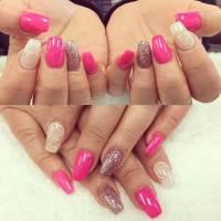 29+ Pink Nail Art Designs, Ideas | Design Trends - Premium ...