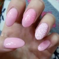 25+ Light Pink Nail Art Designs, Ideas | Design Trends ...