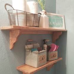 Small Crop Of Bathroom Hanging Shelf
