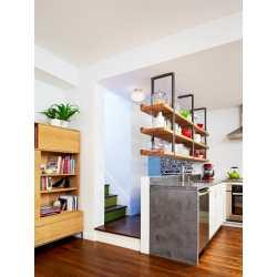 Awesome Open Kitchen Hanging Shelves Hanging Wall Shelves Plans Design Diy Hanging Bookshelf Ideas Hanging Shelves Ideas