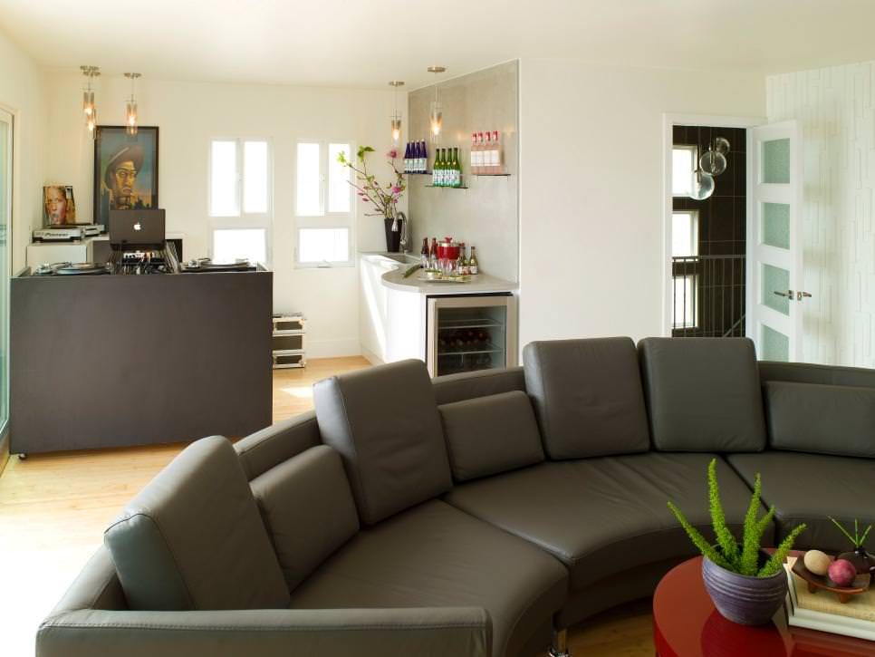 24+ Gray Sofa Living Room Furniture, Designs, Ideas, Plans - cool living room furniture