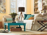 22+ Teal Living Room Designs, Decorating Ideas | Design ...