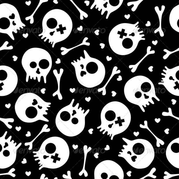 Skeleton Pattern Wallpaper Cute 29 Amazing Skull Patterns Textures Backgrounds Images