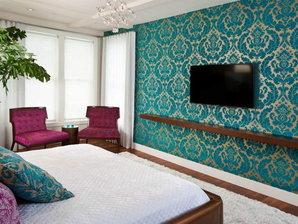 25+ Accent Wall Paint Designs, Decor Ideas Design Trends - wall designs for bedroom