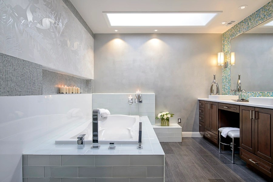 Salle De Bain Style Zen 22 Stylish Grey Bathroom Designs, Decorating Ideas