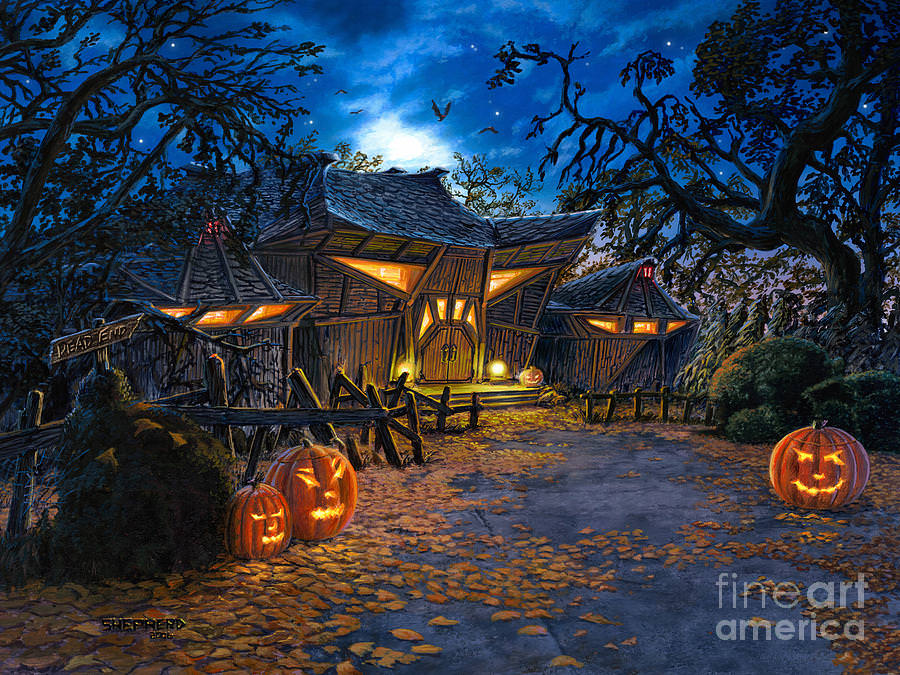 Fall Pumpkin Wallpaper Hd 27 Halloween Paintings Art Ideas Pictures Images