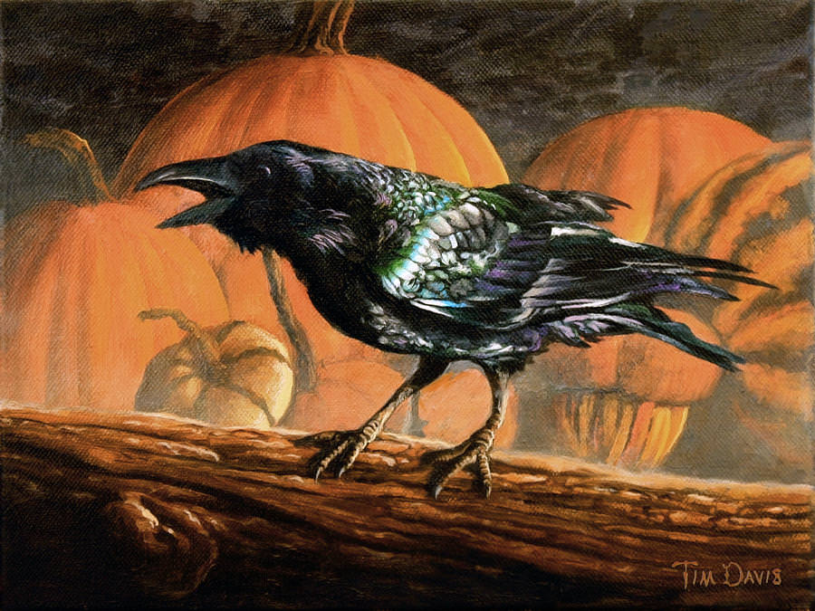Fall Scarecrow Wallpaper 27 Halloween Paintings Art Ideas Pictures Images