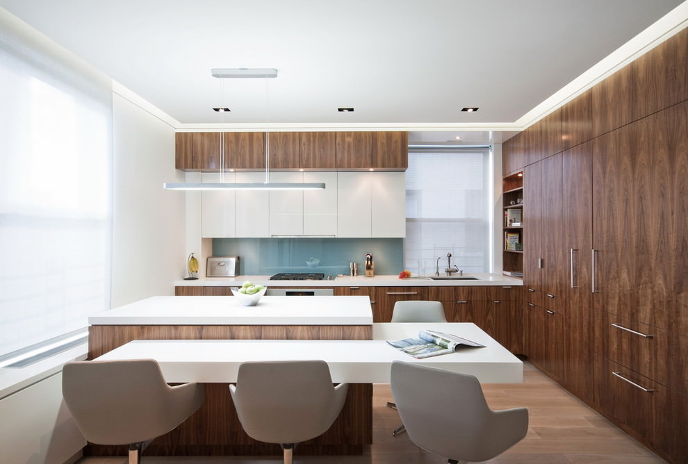 21 L Shaped Kitchen Designs Decorating Ideas Design Trends