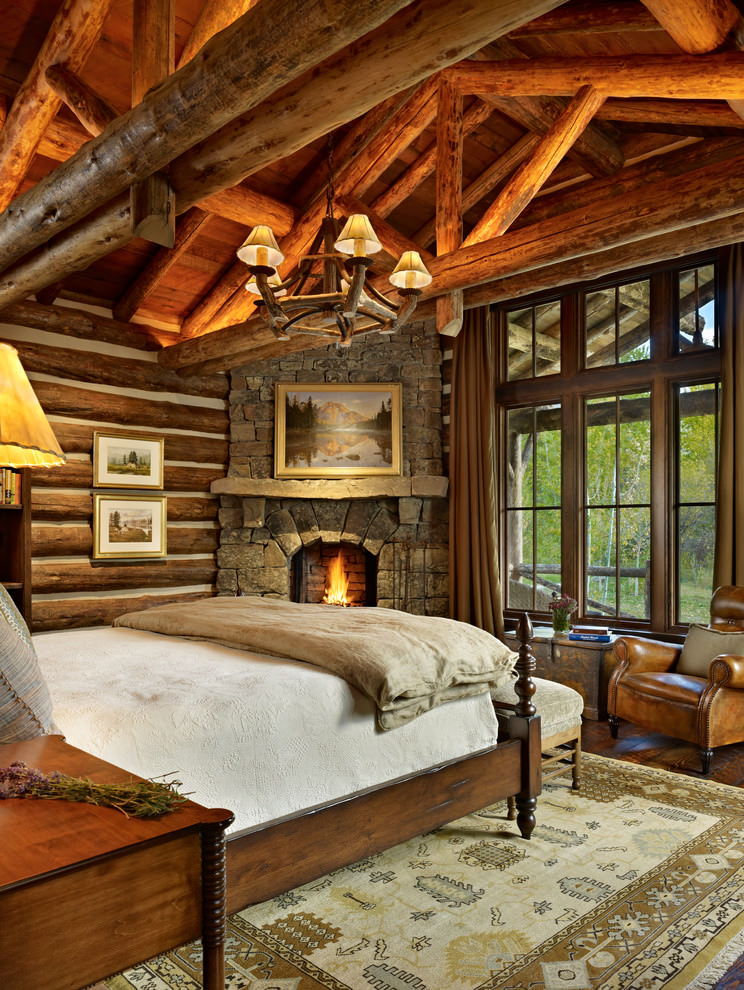 Fausse Pierre Pour Mur Exterieur 23+ Rustic Bedroom Interior Design | Bedroom Designs