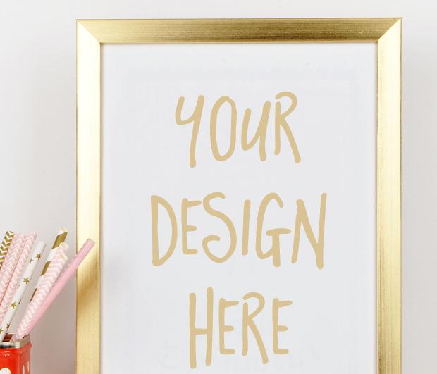 Black White Square Wallpaper 20 Frame Mockups Psd Download Design Trends Premium