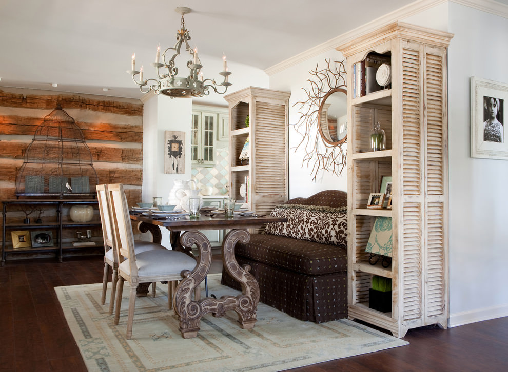 Shabby Style 25+ Shabby Chic Dining Room Designs, Decorating Ideas