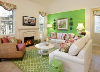 23+ Green Wall Designs, Decor Ideas for Living Room ...