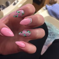 27+ Rose Nail Art Designs, Ideas | Design Trends - Premium ...