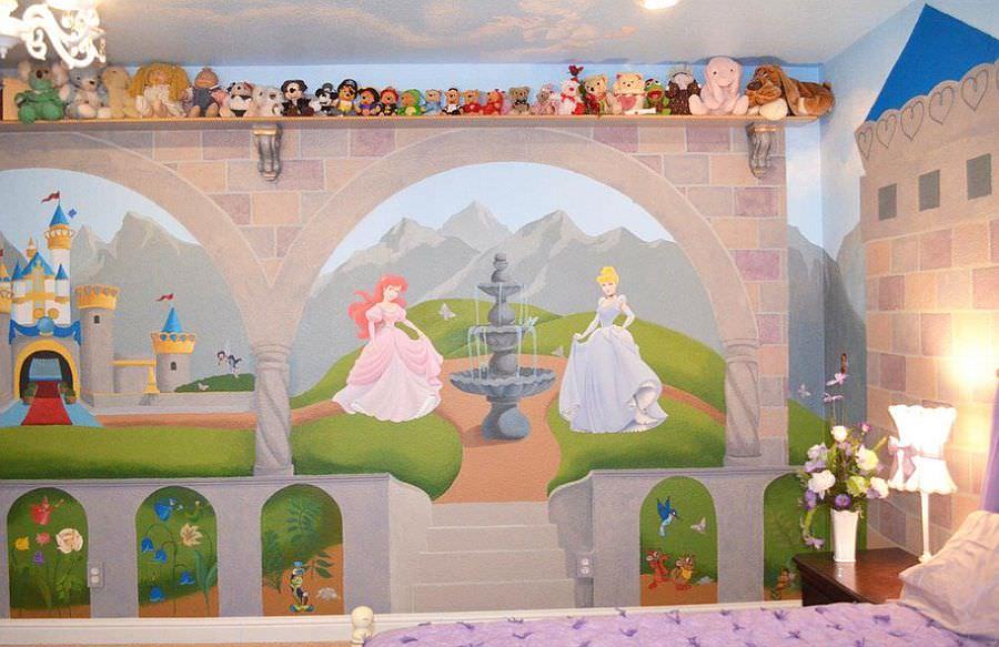 Baby Girl Nursery Wallpaper Uk 24 Disney Themed Bedroom Designs Decorating Ideas