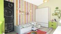 23+ Child Room Designs, Decorating Ideas With Striped ...