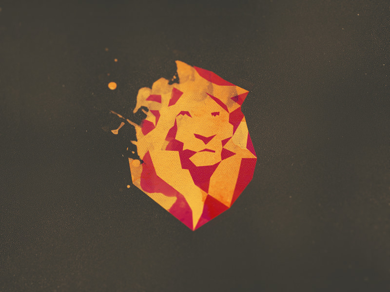 Peacock 3d Wallpaper Download 21 Creative Lion Logo Designs Ideas Examples Design