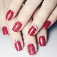 Beautiful Red Nail Art Designs | Design Trends - Premium ...