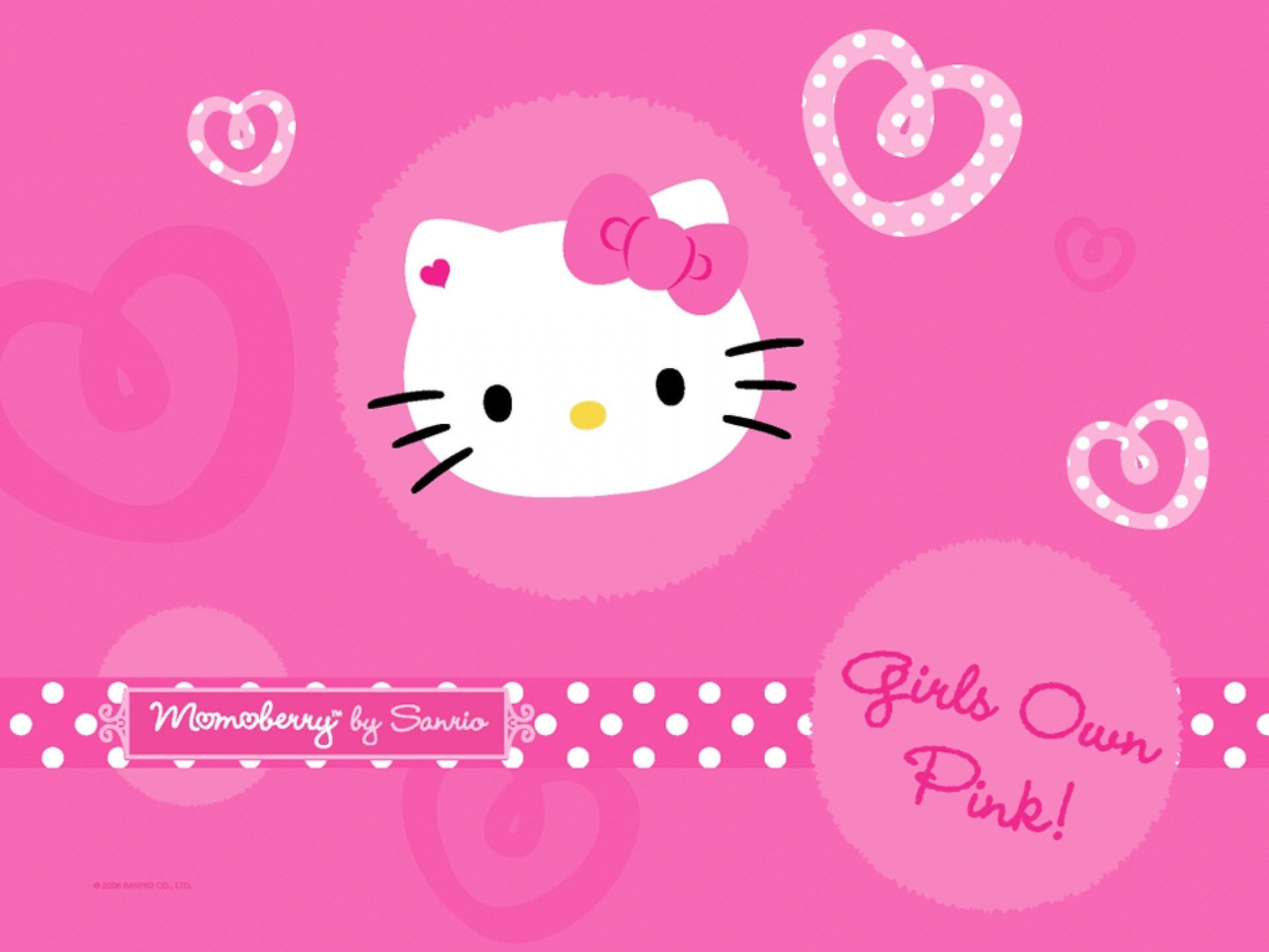 Pretty Anime Girl Wallpaper 30 Hello Kitty Backgrounds Wallpapers Images Design