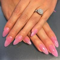 25+ Pink Acrylic Nail Art, Designs, Ideas | Design Trends ...