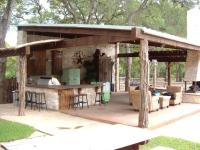22+ Outdoor Kitchen Bar Designs, Decorating Ideas | Design ...
