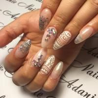 26+ Long Acrylic Nail Art Designs , Ideas | Design Trends ...