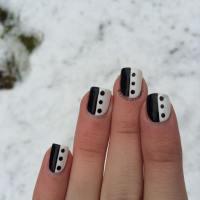 29+ Black Acrylic Nail Art, Designs, Ideas | Design Trends ...