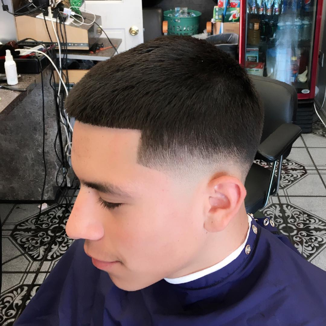 Boy Cut Hairstyles For Curly Hair 27 Male Taper Haircut Designs Hairstyles Design