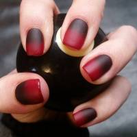 27+ Black and Red Nail Art Designs