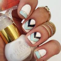27+ White Color Summer Nail Designs, Ideas | Design Trends ...
