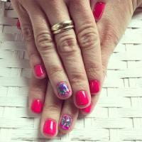 25+ Pink Summer Nail Arts, Ideas   Design Trends - Premium ...