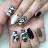 Dazzling Collection of Camo Nail Designs | Design Trends ...