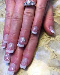 21+ French Nail Art Designs, Ideas   Design Trends ...
