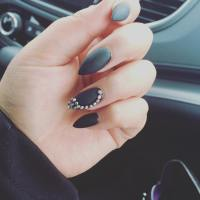 21+ Pointed Nail Art Designs, Ideas   Design Trends ...