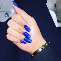21+ Royal Blue Nail Art Designs, Ideas   Design Trends ...