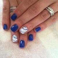 21+ Royal Blue Nail Art Designs, Ideas | Design Trends ...