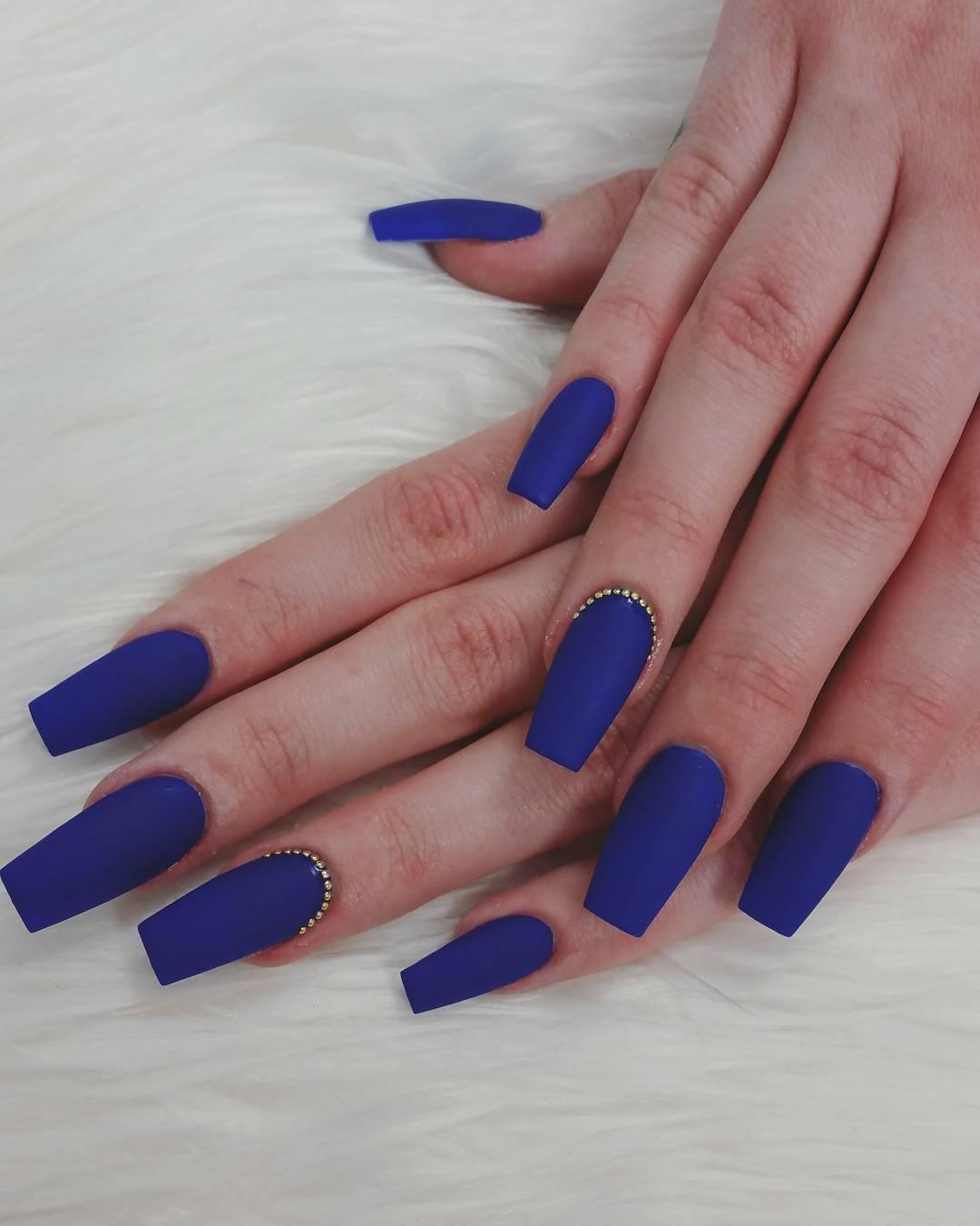 Plain Colour Nail Art Nailarts Ideas
